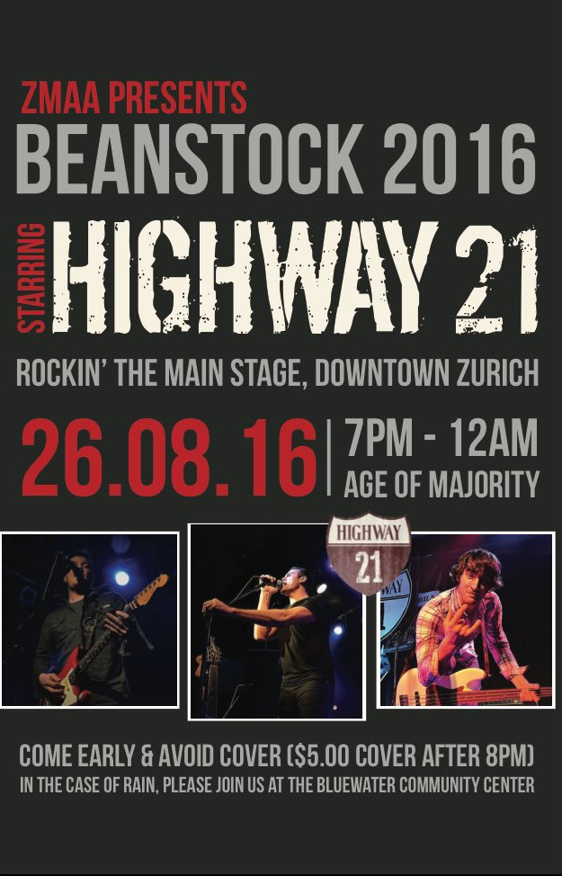 Beanstock with Highway 21