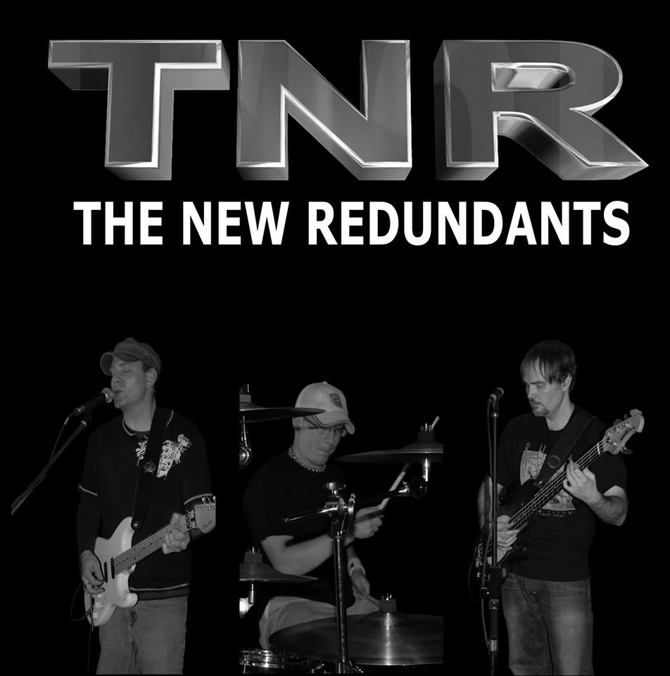 Rock out with this rock hits trio - The New Redundants on the main stage at 1:15-2pm