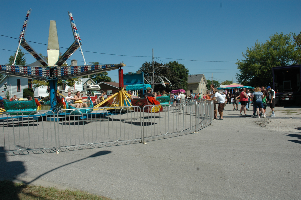 2010 Bean Festival Midway