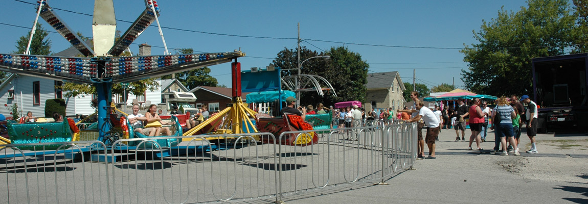 Rides at the Zurich Bean Festival